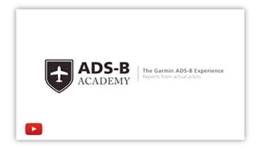 Garmin ADS-B Youtube 1